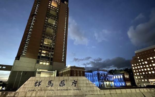 群馬県は営業時間短縮要請への協力金を倍増すると発表した(前橋市)