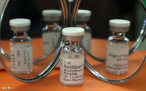 ステロイドの一種、デキサメタゾンは、コロナの重症患者の救命に威力を発揮している=ロイター
