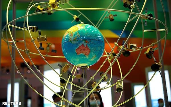中国は宇宙分野を重点領域に位置づけており、関連産業の裾野が広がる=ロイター