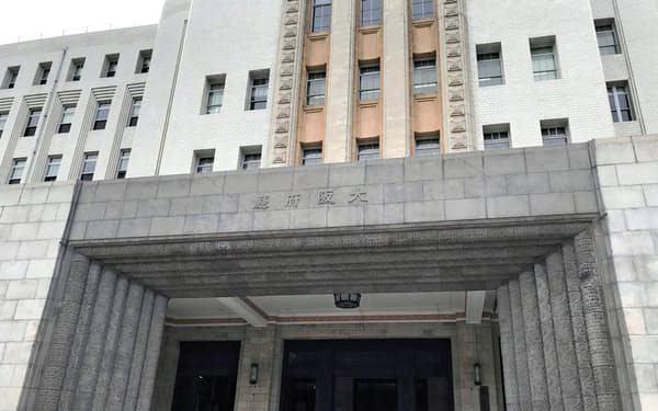 大阪府庁本館(大阪市中央区)