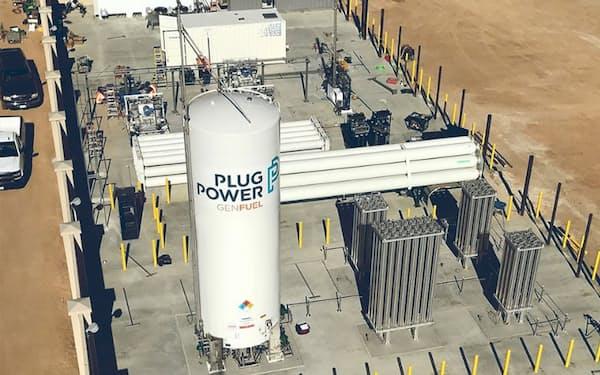 プラグパワーは水素燃料のサプライチェーンを構築する