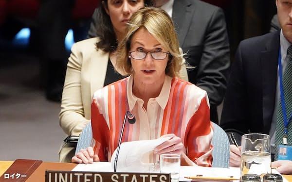 クラフト米国連大使の台湾訪問は急遽、中止となった=ロイター