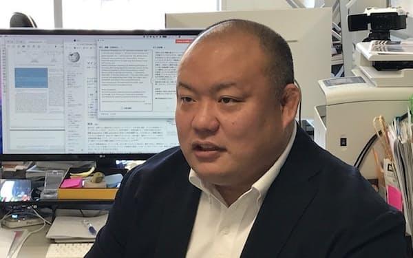柔道界改革の一翼を担ってきた石井孝法は「データをインテリジェンスに変えることこそ重要」と話す