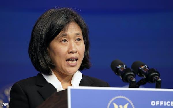 米中貿易交渉は次期USTR代表に指名された中国通の弁護士キャサリン・タイ氏が担う=AP