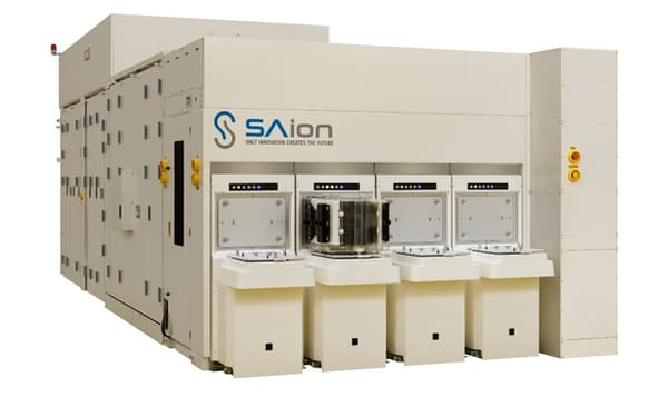 住友重機械工業が販売するイオン注入装置