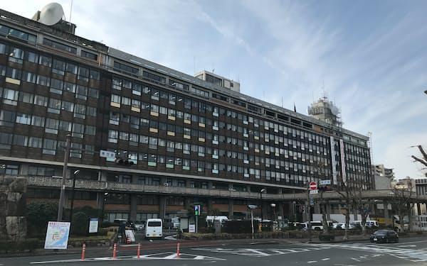 一般会計の予算要求額は過去10年で最大となった(岡山県庁)