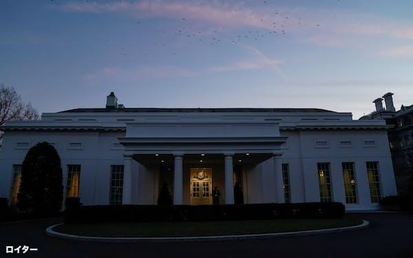 ワシントンのホワイトハウス=ロイター