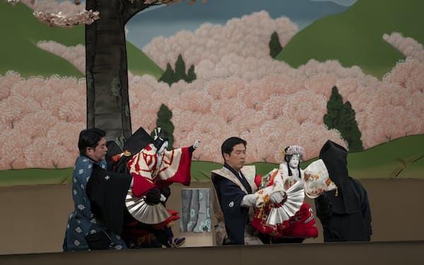2部の「義経千本桜」道行初音旅