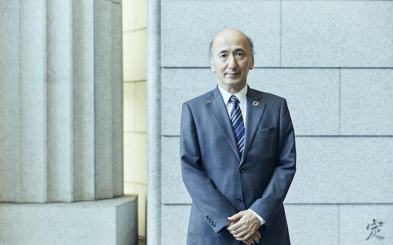 東京国際金融機構の中曽宏会長