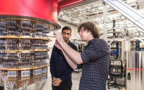 グーグルが開発中の量子コンピューター