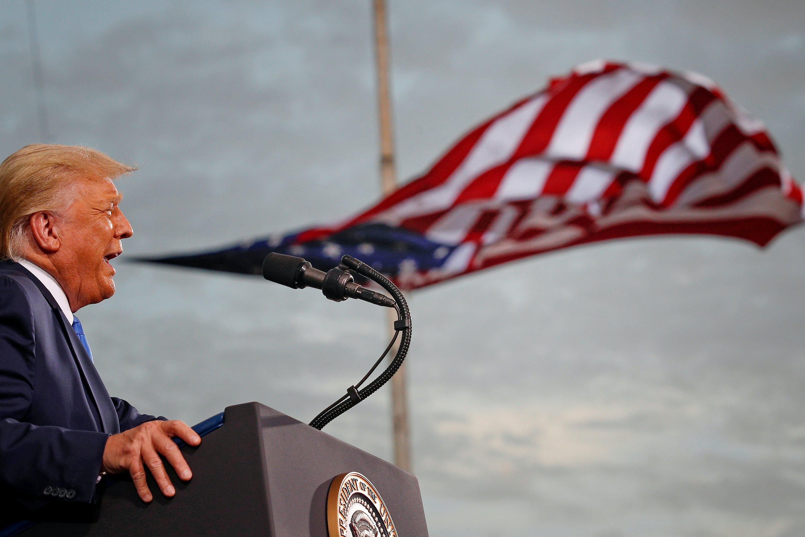 トランプ大統領は20日に退任する=ロイター