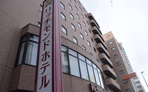 宮城県は「リッチモンドホテル仙台」で無症状者300人を受け入れる(仙台市)