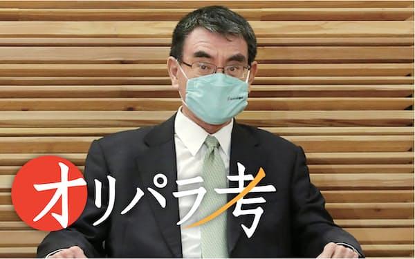 河野規制改革相の東京五輪についての発言が波紋を広げた