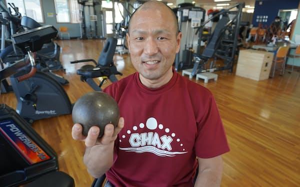 東京パラリンピック出場を目指しトレーニングに励む森卓也さん