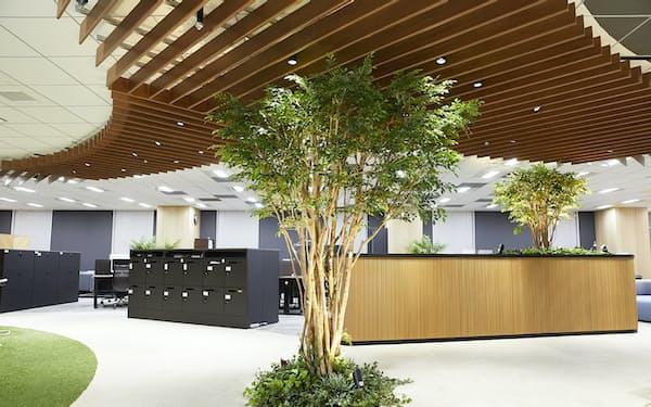 AIによる空調実験をした東京建物のオフィス(東京・中央)