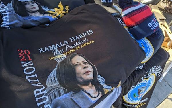 カマラ・ハリス次期副大統領の就任を祝う記念Tシャツ