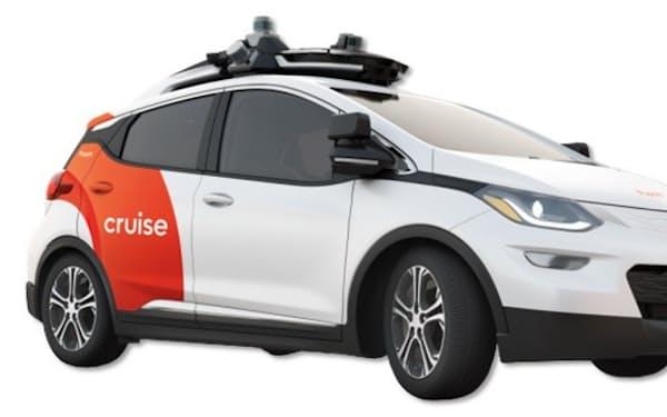 GMなどが開発している自動運転車両「クルーズAV」