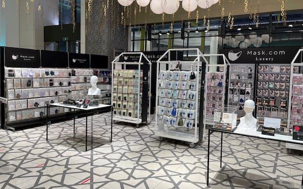 コックスのマスク専門店「マスクドットコムラグジュアリー 大丸東京店」