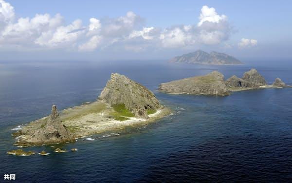 沖縄県の尖閣諸島=共同