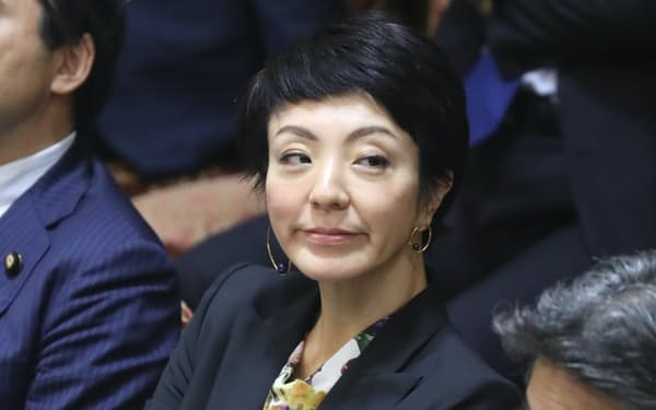 河井案里参院議員(2019年10月)