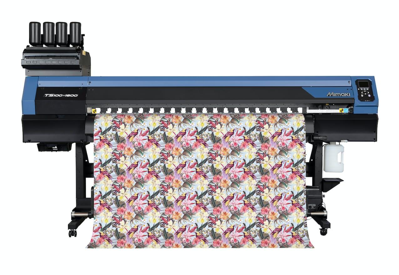高性能で低価格な「TS100-1600」を武器に、ミマキエンジは服飾用プリンターの市場シェアを伸ばす
