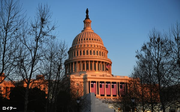 米議会上院では党方針に常に従うことのない中道派議員の影響力がかつてないほどに増している=ロイター