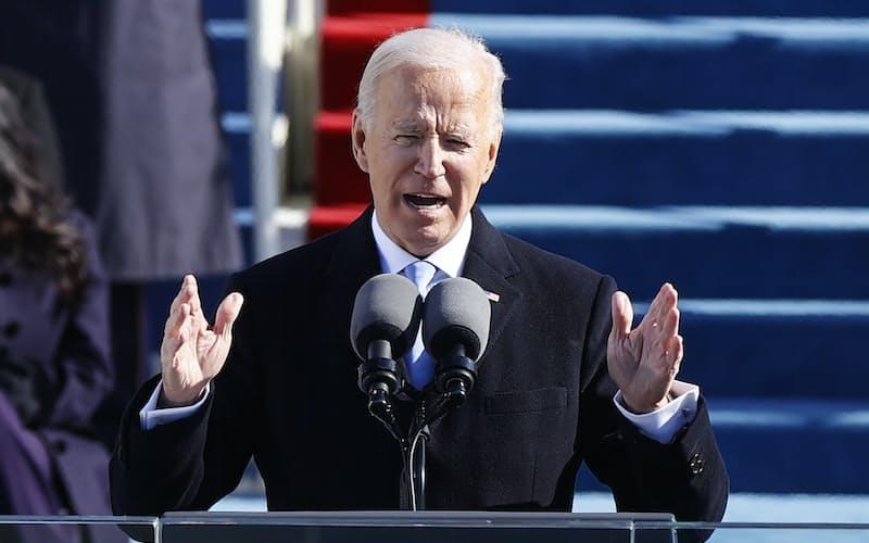 バイデン米大統領は同盟関係の修復に意欲をみせた(20日、ワシントン)=ロイター