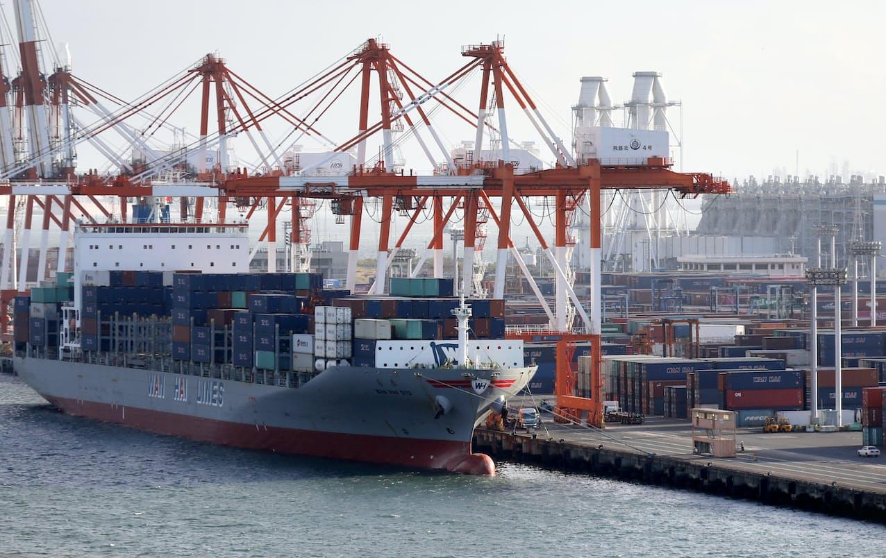 自由貿易の枠組みは中部経済の成長を左右する(名古屋港)