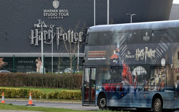 「としまえん」跡地には23年にハリー・ポッター施設が開業する(ロンドン郊外の「ワーナー・ブラザーズスタジオツアーロンドン」)
