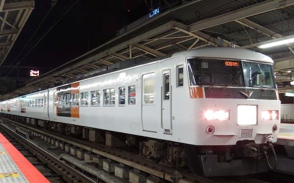 運行終了が決まった「ムーンライトながら」(JR東日本提供)