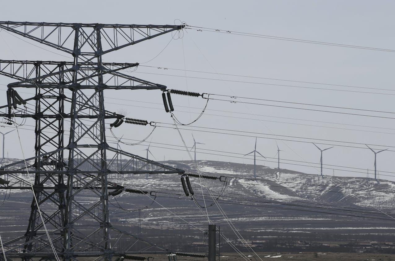 アジアの電力需要は高水準(中国河北省)=ロイター