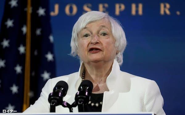 イエレン氏の財務長官としての最初の課題は追加の財政出動だ=ロイター