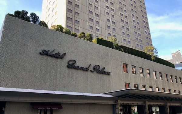 ホテルグランドパレスは7月から営業を休止する(東京・千代田)