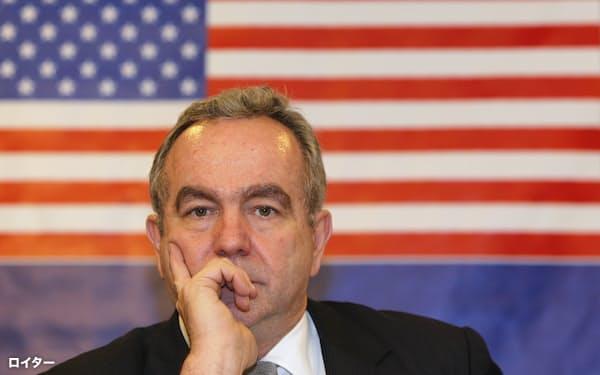 キャンベル氏は東アジア地域におけるパワーバランスを再確立するための米国の戦略目標を打ち出した=ロイター
