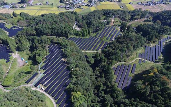 日本アジアグループは太陽光発電事業などを手掛ける