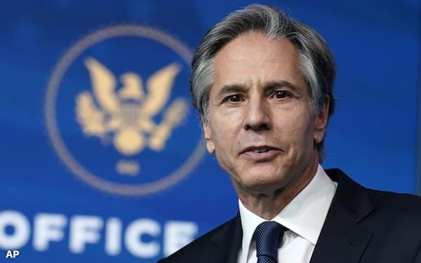 ブリンケン米国務長官は2000年代に上院外交委員長を務めていたバイデン氏に側近スタッフとして仕えていた=AP