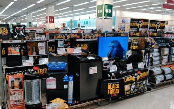 イオン九州はブラックフライデーなどの大型セールで巣ごもり需要を取り込んだ