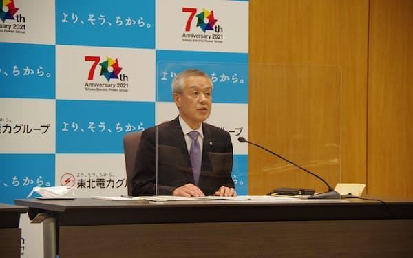 次期会長に決まった増子次郎副社長
