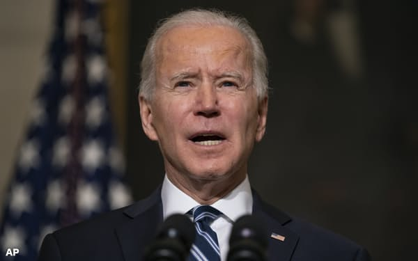 バイデン米大統領は主要排出国の首脳会合を開き、脱炭素社会に向けた米国の指導力をアピールしたい考えだ=AP