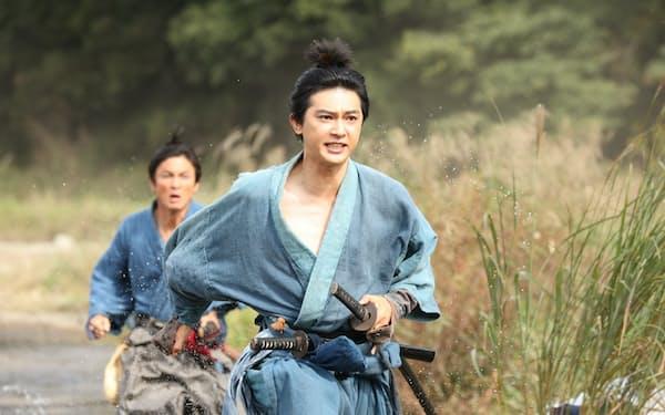 大河ドラマ「青天を衝け」の場面