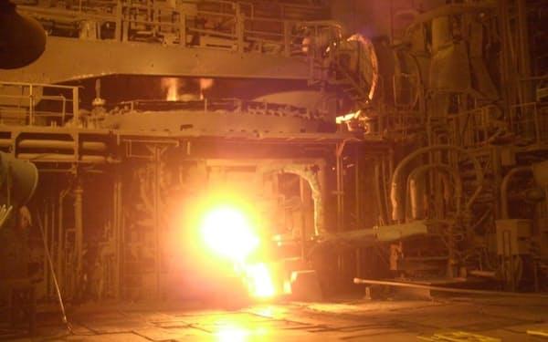 東京製鉄は電力の需給状況に合わせた柔軟な操業を目指す(北九州市の九州工場)