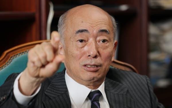 日本国際問題研究所の佐々江賢一郎理事長