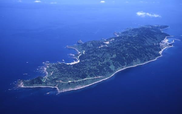 5G基地局整備に向け粟島と本土に海底光ケーブルが2本敷設される