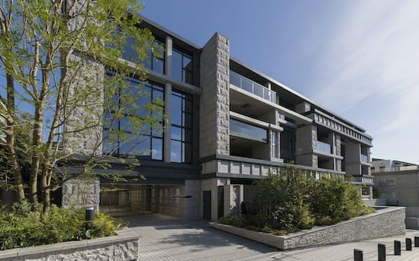 住友不動産が販売中の「グランドヒルズ目黒一丁目」(東京都目黒区)は全戸1億円を超える