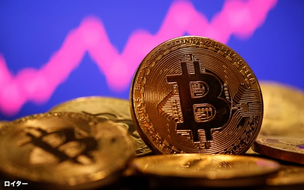 ビットコイン価格は29日に急上昇した=ロイター