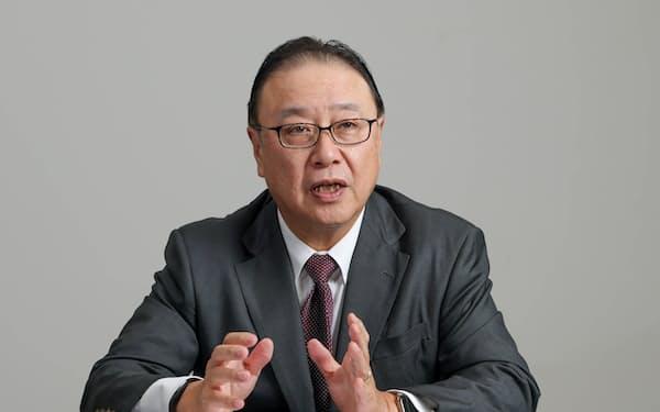 桜田代表幹事(SOMPOホールディングス社長)は、カーボンプライシング導入を経済界として否定しないという