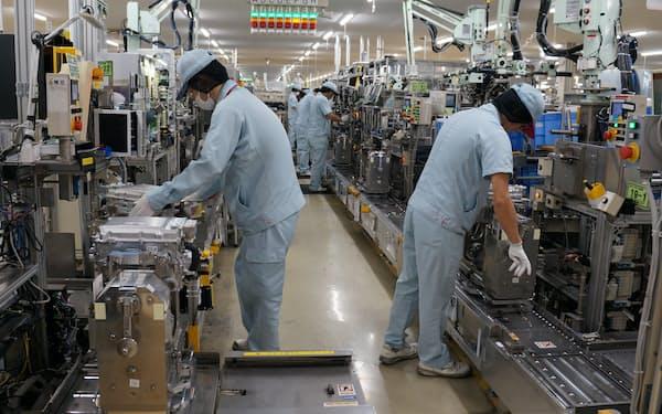 トヨタ自動車系主要8社の業績が回復している(愛知県安城市のデンソー安城製作所)