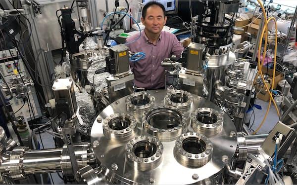 物質探索ロボットシステムは全自動で実験ができる=東京工業大学提供