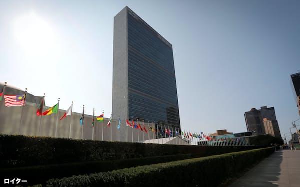 国連安全保障理事会は4日、ミャンマー情勢に「深い懸念」を示す報道声明を発表した(ニューヨークの国連本部)=ロイター