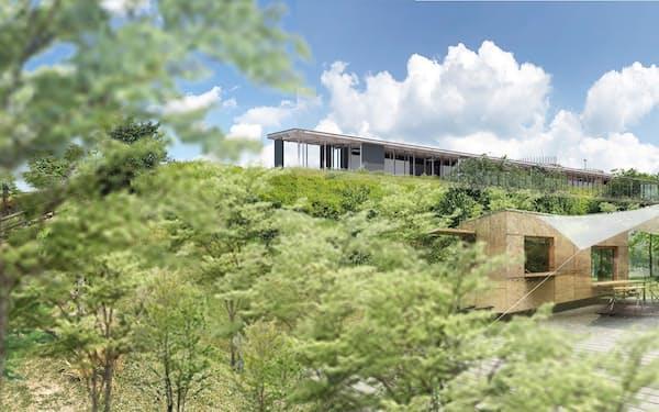愛知県豊田市の鞍ケ池公園内で直営店を4~5月に開業する(イメージ)